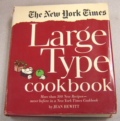 Image for The New York Times Large Type Cookbook