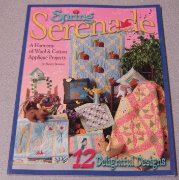 Image for Spring Serenade: A Harmony of Wool and Cotton Applique Projects