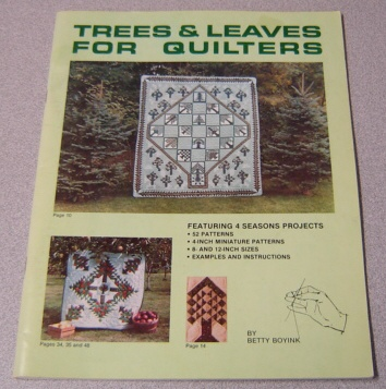 Image for Trees & Leaves For Quilters, Featuring 4 Seasons Projects