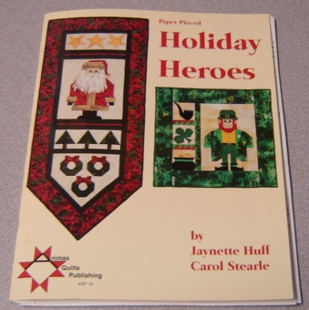 Image for Paper Pieced Holiday Heroes