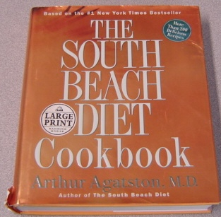 Image for The South Beach Diet Cookbook, Large Print