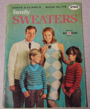Image for Family Sweaters, Coats And Clark's Book No. 178