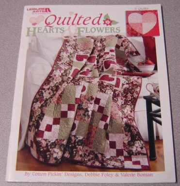 Image for Quilted Hearts & Flowers (Leisure Arts #3768)