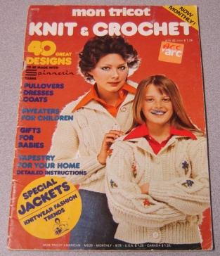 Image for Mon Tricot Knit & Crochet (#MD25, 9/75)