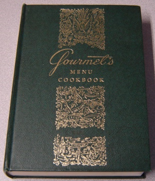 Image for Gourmet's Menu Cookbook: A Collection Of Epicurean Menus And Recipes