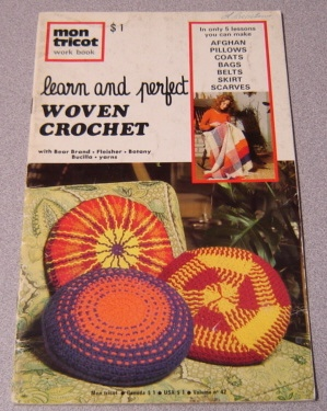 Image for Mon Tricot Learn and Perfect Woven Crochet, Volume No. 42