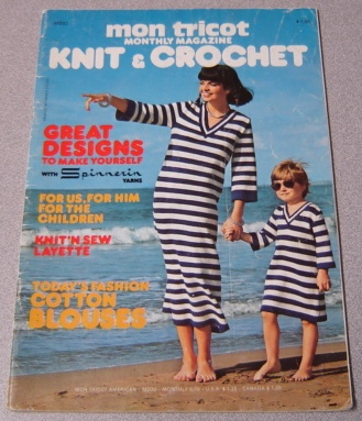 Image for Mon Tricot Knit & Crochet Monthly Magazine #MD32 5/76