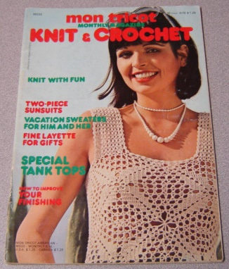 Image for Mon Tricot Knit & Crochet Monthly Magazine #MD33, 6/76