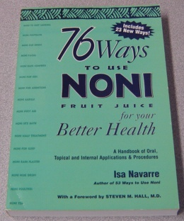 Image for 76 Ways To Use Noni Fruit Juice For Your Better Health