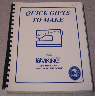 Image for Quick Gifts To Make, Art Of Sewing, From Viking