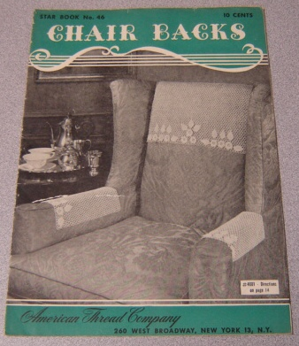Image for Chair Backs, Star Book No. 46