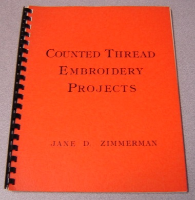 Image for Counted Thread Embroidery Projects; Signed