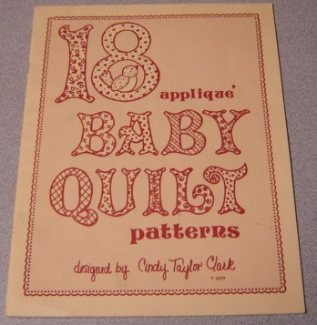 Image for 18 Applique Baby Quilt Patterns