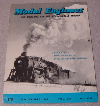 Image for Model Engineer, Volume 127, No. 3202, November 22, 1962