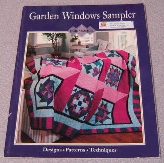 Image for Garden Windows Sampler (Quilts Made Easy)