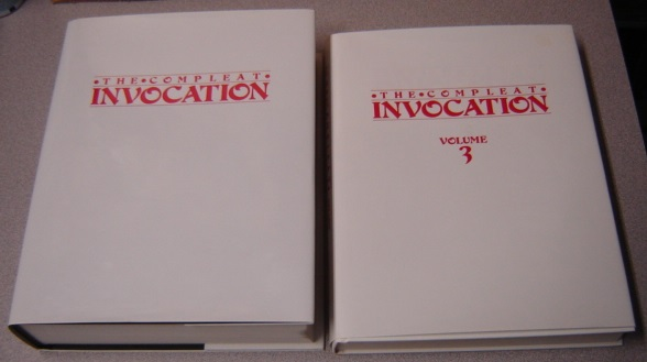 Image for The Compleat Invocation, Volumes 1,2,3 in Two Books