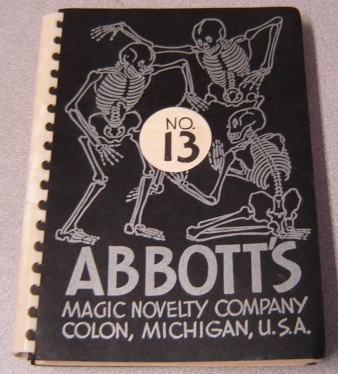 Image for Abbott's Magic Novelty Company Catalogue No. 13
