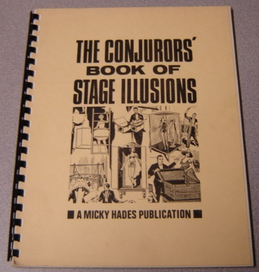 Image for The Conjurors' Book Of Stage Illusions: Selected From The Conjuror's Magazine