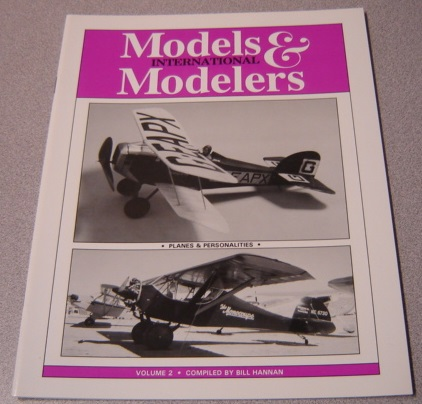 Image for Models & Modelers International, Volume 2: Planes And Personalities