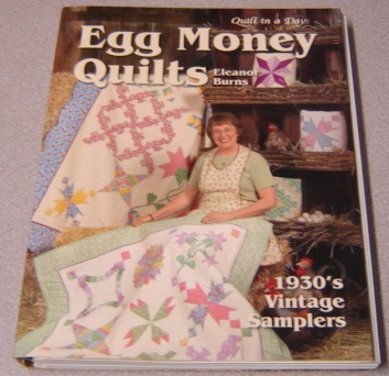 Image for Egg Money Quilts:  1930's Vintage Samplers (Quilt in a Day Series)
