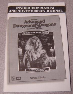 Image for Treasures of the Savage Frontier, Instruction Manual & Adventurer's Journal, Advanced Dungeons & Dragons, A Forgotten Realm Fantasy Role Playing Epic, Vol. II