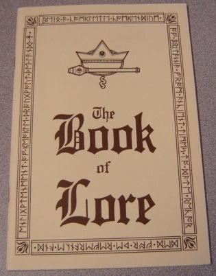 Image for The Book Of Lore (ultima)