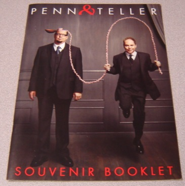 Image for Penn & Teller Souvenir Booklet