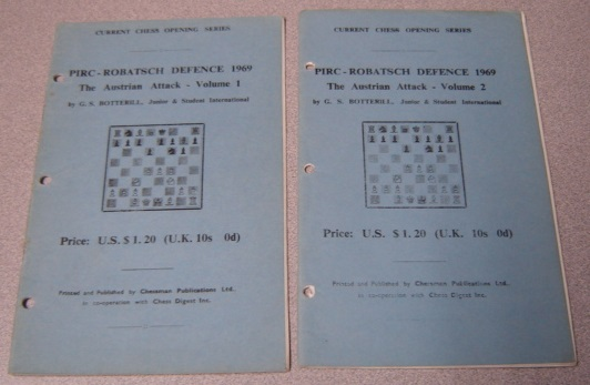 Image for PIRC-Robatsch Defence 1969: The Austrian Attack, Volumes 1 & 2, 2 Volume Set