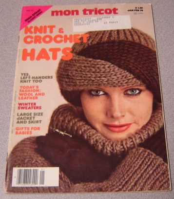 Image for Mon Tricot Magazine, January/February 1978 (Knit & Crochet Hats, MD 52)