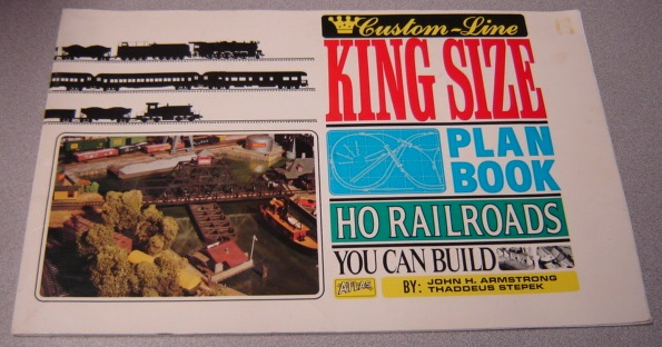 Image for Custom-Line King Size Plan Book: HO Railroads You Can Build