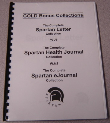 Image for The Complete Spartan Letter Collection + The Complete Spartan Health Journal Collection + The Complete Spartan eJournal Collection