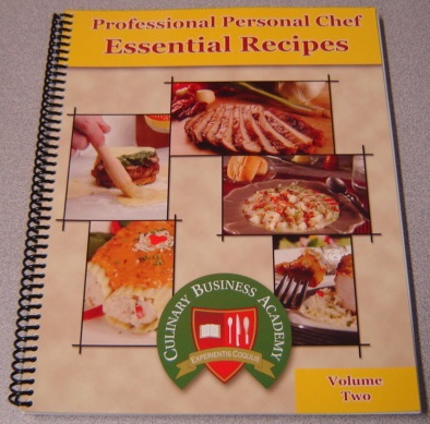 Image for Professional Personal Chef Essential Recipes, Volume Two (2, II)