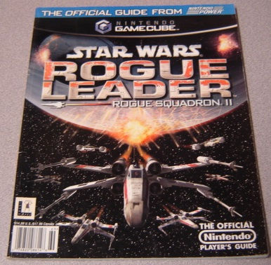 Image for Official Nintendo Star Wars Rogue Leader Rogue Squadron II Player's Guide