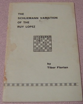 Image for The Schliemann Variation Of The Ruy Lopez