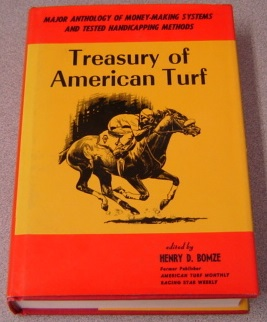 Image for Treasury Of American Turf: Major Anthology Of Money-making Systems And Tested Handicapping Methods