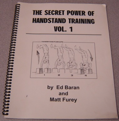 Image for The Secret Power Of Handstand Training, Volume 1