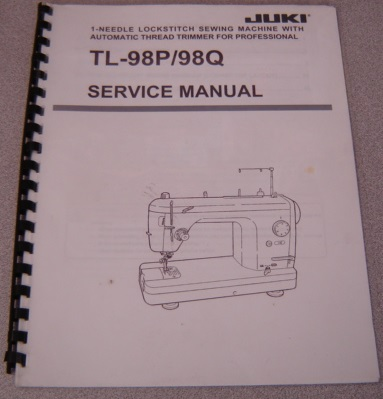 Image for Juki TL-98P / 98Q Sewing Machine Service Manual