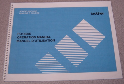 Image for Brother PQ1500S Sewing Machine Operation Manual
