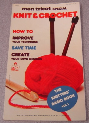 Image for Mon Tricot Special Knit & Crochet: The Knitters' Basic Book, Volume 1 (#0D17)