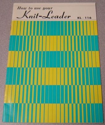 Image for How to Use Your Knit-Leader, KL-116