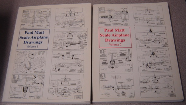 Image for Paul Matt's Scale Airplane Drawings, Volume 1 & 2, 2 Volume Set