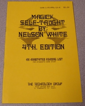 Image for Magick Self-taught: An Annotated Reading List For Student's Home Study, 4th Edition