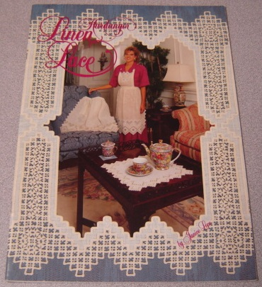 Image for Hardanger Linen Lace; Signed