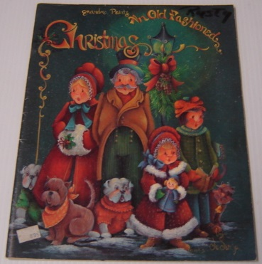 Image for Grandma Paints An Old Fashioned Christmas; Signed