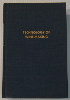 Image for The Technology Of Wine Making, 3rd Edition