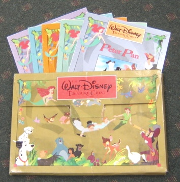 Image for Walt Disney Treasure Chest: Little Mermaid, Jungle Book, 101 Dalmations, Bambi, Peter Pan In Original Case