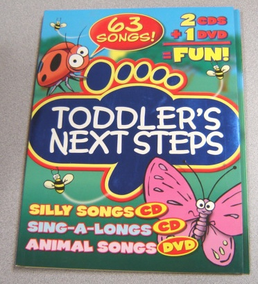 Image for Toddler's Next Steps: Silly Songs, Sing-A-Long Songs, Animal Songs