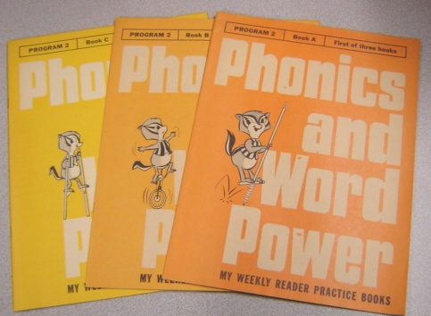 Image for Phonics And Word Power, My Weekly Reader Practice Books, Program 2, Books A, B, C, 3 Volume Set