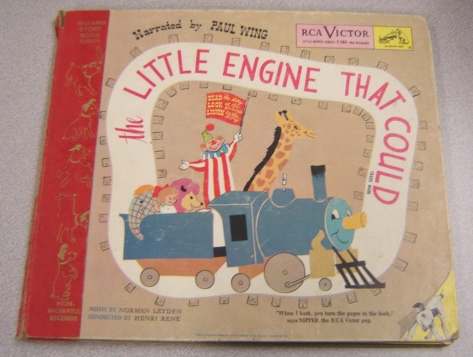 Image for The Little Engine That Could (Little Nipper Series #Y-384) Story Book and 2 Vinyl Album Set