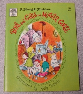 Image for Boys and Girls in Mother Goose (Merrigold Miniature Ser.)